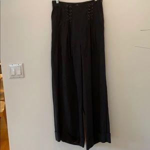 Ulla Johnson Wide Leg Black Pants